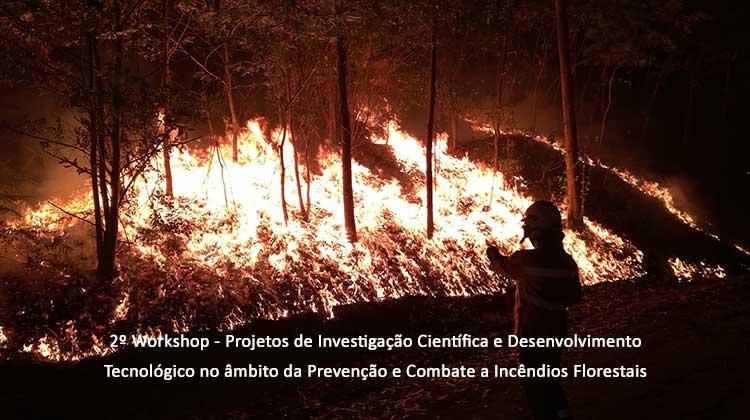 2º Workshop – Projetos de Investigação Científica e Desenvolvimento Tecnológico no âmbito da Prevenção e Combate a Incêndios Florestais